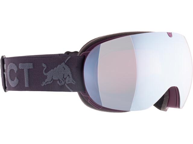 Red Bull SPECT Magnetron Ace Lunettes de protection, burgundy-mauve snow